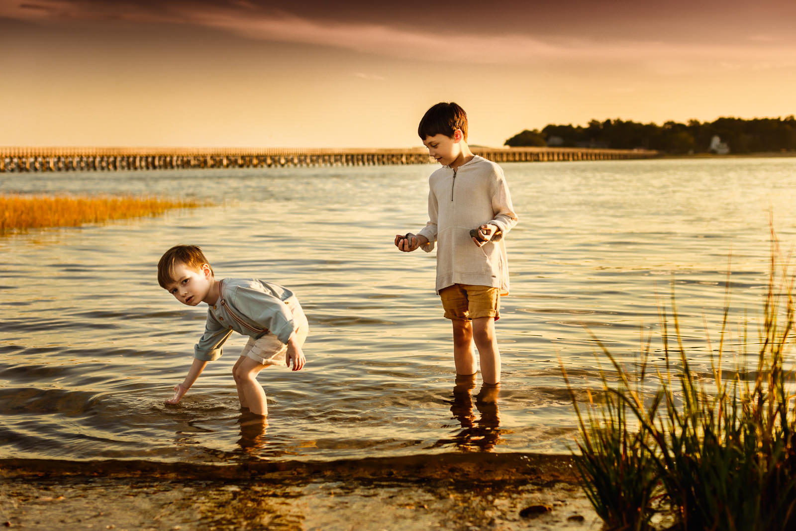 Duxbury Beach Family Photo Session -1