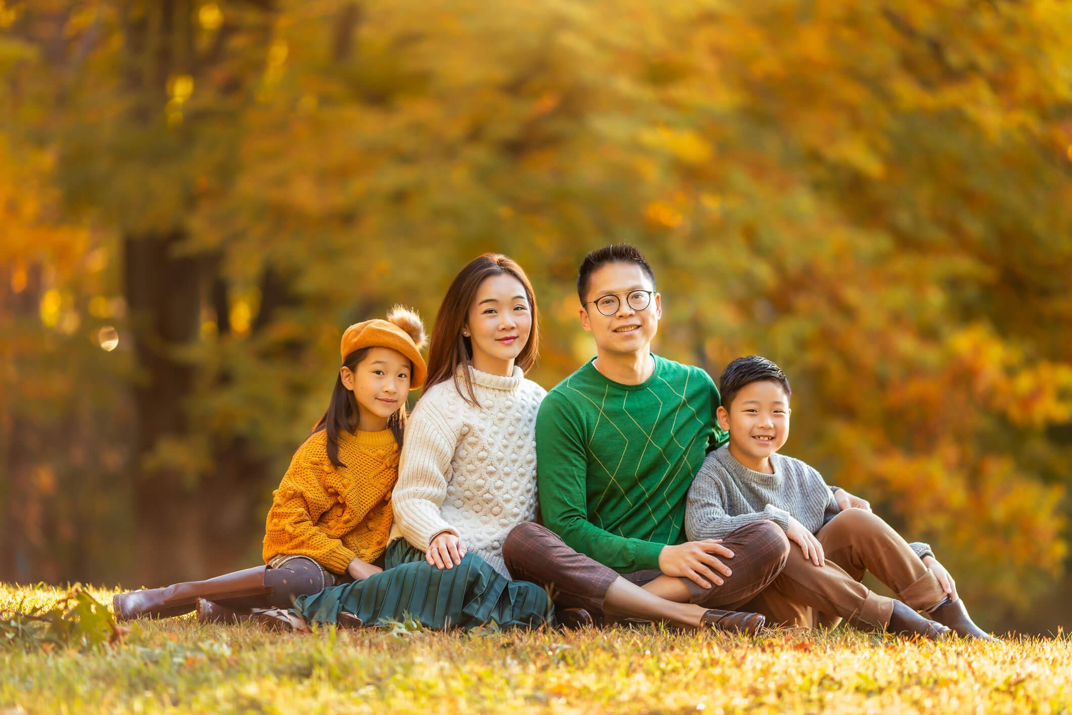 Fall Family Fine Art Portraits, Family Photographer Boston 7