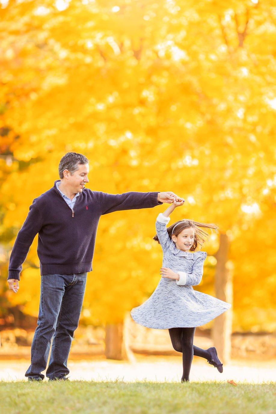 Fall Family Fine Art Portraits, Family Photographer Boston, dad 4