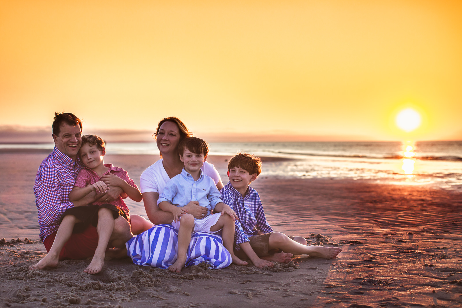 Summer Beach Family Session Cape Cod-10